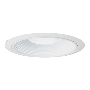 28 Series 6 Inch Ultra-Trim Baffle Downlight Trim by Juno Lighting | 28w-wh