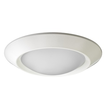 4101 Series 4 Inch Beveled Dome Lensed Shower Trim by Juno Lighting | 4101-wh