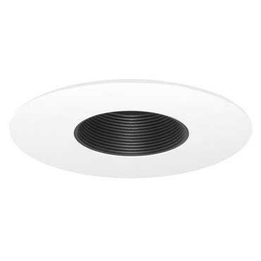 424 Series 6 Inch Low Voltage Pinhole Baffle Trim  by Juno Lighting | 424B-WH