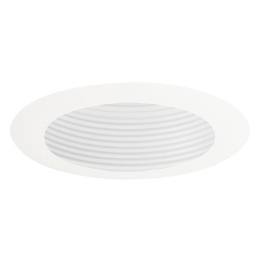 444 Series 4 Inch Adjustable Baffle Trim by Juno Lighting | 444w-wh