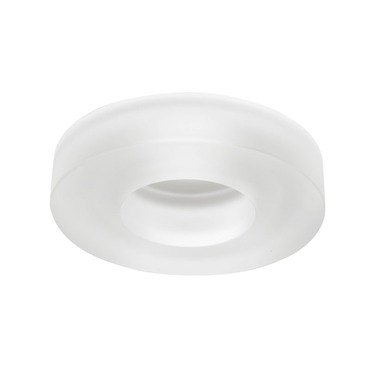4480 Series 4 Inch Solid Glass Collar Trim by Juno Lighting | 4480FROST