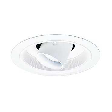 458 Series 6 Inch Cylinder Spotlight Trim by Juno Lighting | 458W-WH