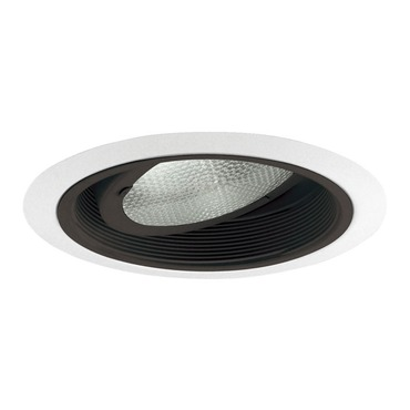 464 Series 6 Inch Adjustable Baffle Trim by Juno Lighting | 464B-WH