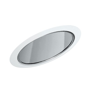 612 6 Inch Standard Slope Reflector Cone Trim  by Juno Lighting | 612c-wh