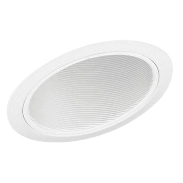 614 Standard Slope White Baffle Trim