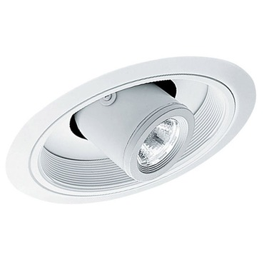 617 6 Inch Standard Slope Cylinder Spotlight Baffle Trim by Juno Lighting | 617w-wh