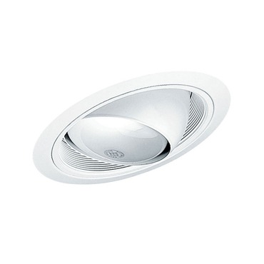 619 6 Inch Standard Slope Eyeball Baffle Trim  by Juno Lighting | 619WWH
