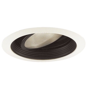 688 Series 5 Inch Gimbal Ring In Baffle Trim by Juno Lighting | 688b-wh