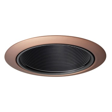 14B 4 Inch Black Baffle Downlight Trim