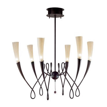 Virgins 6 Light Suspension by Terzani USA | 0A32SF1B4A