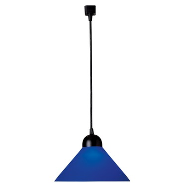 R560 Trac-Lites Line Voltage Large Cone Pendant by Juno Lighting | r560bu