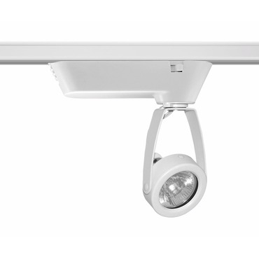 T196 Trac-Master Open Back Low Voltage MR16 Lamp Holder by Juno Lighting | t196wh