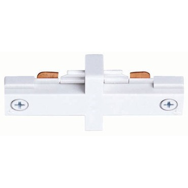 T23 Trac-Master Miniature Straight Connector by Juno Lighting | T23WH