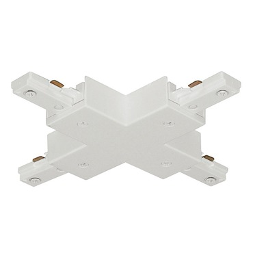 T26 Trac-Master X Connector by Juno Lighting | T26WH