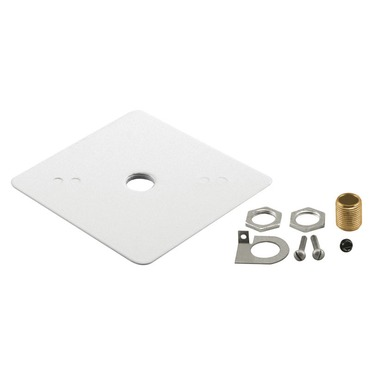 T27 Outlet Box Cover by Juno Lighting | T27WH