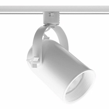 T326 PAR20 Round Back Cylinder Baffle Track Fixture 120V by Juno Lighting | T326WHBWH