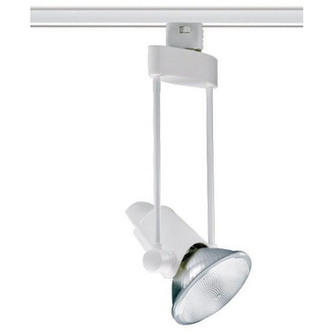 T635 Trapezia PAR30 Trac Master Line Voltage Lamp Holder by Juno Lighting | T635-9-WH
