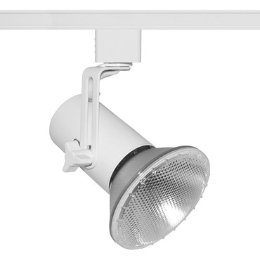 T691 PAR38 Hi-Tech Mini Swivel Universal Track Fixture 120V by Juno Lighting | t691wh
