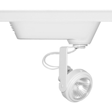 T696 Trac-Master Open Back Low Voltage MR16 Lamp Holder by Juno Lighting | t696wh
