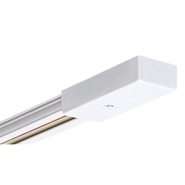 Trac 12 Miniature Low Voltage Track  by Juno Lighting | TLV2FTWH