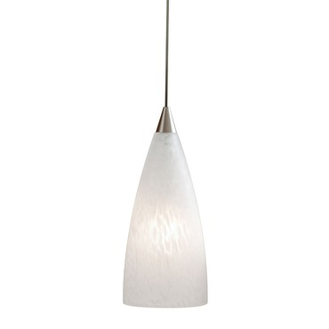 Decorative Low Voltage Flute Glass Pendant by Juno Lighting | tlp314glacier