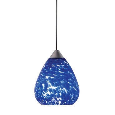 Decorative Low Voltage Teardrop Glass Pendant