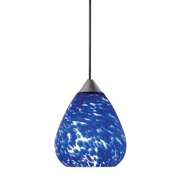 Decorative Low Voltage Teardrop Glass Pendant