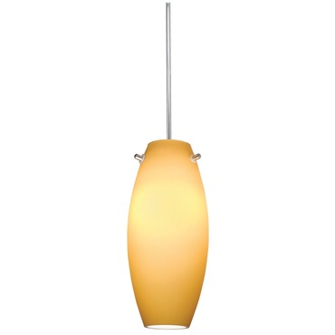 Decorative Low Voltage Ellipse Glass Pendant