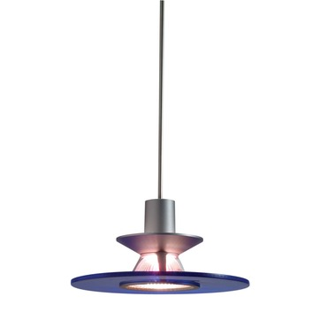 Decorative Low Voltage Disc Pendant by Juno Lighting | TLP328COBALT