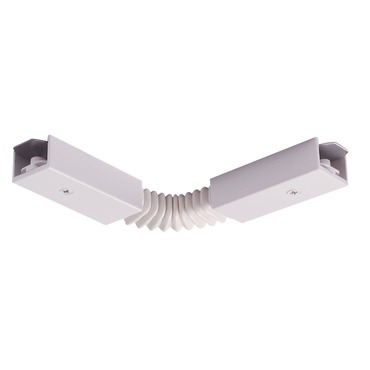 Trac 12/25 Accordion Adjustable Joiner by Juno Lighting | TLR20WH