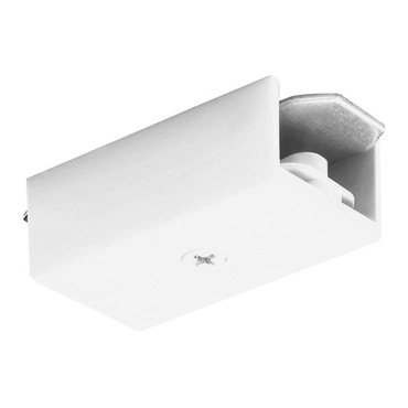 Trac 12/25 Miniature Straight Connector by Juno Lighting | TLR23WH
