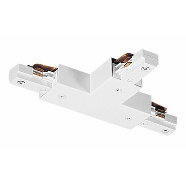TU25 2-Circuit Trac T Connector by Juno Lighting | TU25WH
