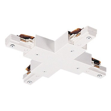 TU26 2-Circuit Trac X Connector by Juno Lighting   TU26WH