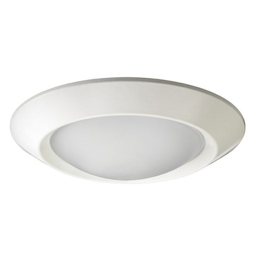 4401 Series 4 Inch Beveled Dome Shower Trim by Juno Lighting | 4401-WH