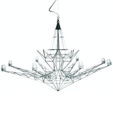 Lightweight Chandelier by Foscarini | 064007 ZI U