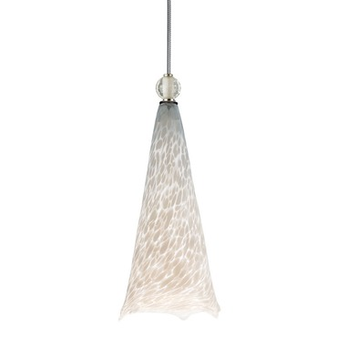 Ovation Pendant with Ball Detail by Tech Lighting | 700TDOVPWCNS