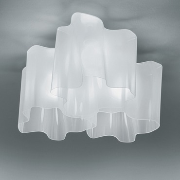 Logico Triple Nested Ceiling Mount by Artemide | 0458028A