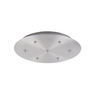 FJ 20 Inch Round 7 Light Canopy by LBL Lighting | ck007b-fj-sc