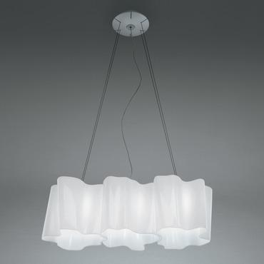 comtemporary lighting black logico mini triple linear suspension modern lighting contemporary by artemide
