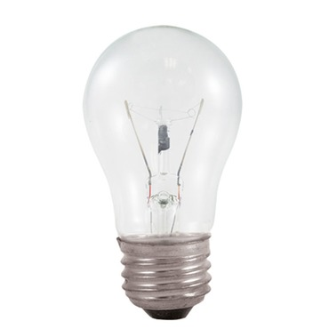 Appliance Bulb A15 Medium Base 40W 130V