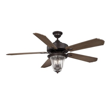 Trudy Indoor Outdoor Ceiling Fan with Light