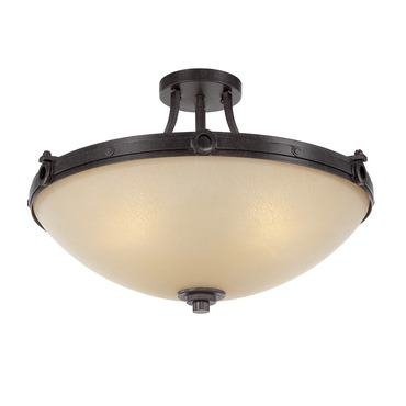 Elba Semi Flush Ceiling Light