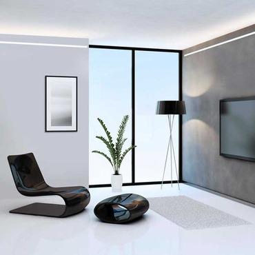 Reveal Plaster-In LED System 10W 24VDC