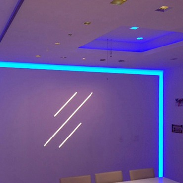 Verge Wall 3W RGB Plaster-In System