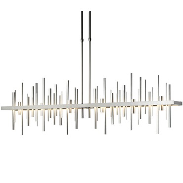 Modern linear suspension lighting lightology cityscape large linear pendant aloadofball Gallery