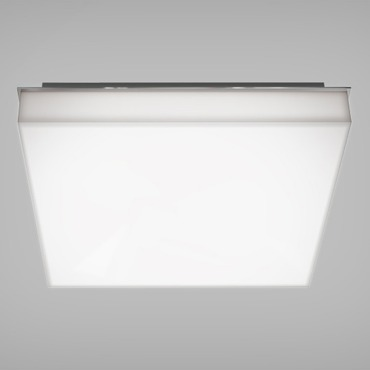 Cube Wall/Ceiling Light Chrome by Blackjack Lighting | CUB-11F-PC