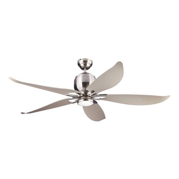 Lily Indoor / Outdoor Ceiling Fan with Light