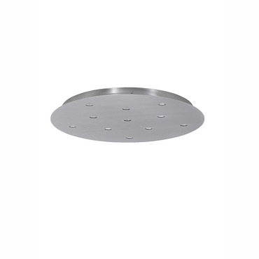 Power Jack 11-Port Line Voltage Round Canopy