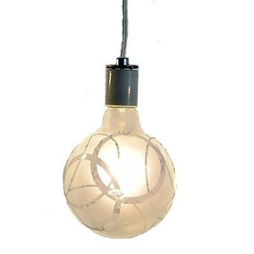 Shadow Bulb Circles Pendant by Melissa Borrell Design | shad-02-circles