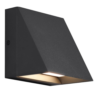 Attirant Pitch Outdoor Wall Light
